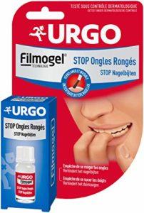 Urgo – Vernis Stop Ongles Rongés – Très amer, Invisible – Restructure et renforce – Dès 3 ans, 9 ml