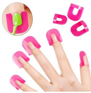 Vernis à ongles Vernis protecteur support Manucure doigt Nail Art Design Conseils Cover Shield outils ongles gel UV Design