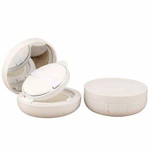 Xunlin 15g / 0,5 oz Vide Coussin d'air boîte de Souffle cosmétique de Maquillage Portable Cas Conteneur avec Poudre éponge Miroir for la Fondation BB Cream