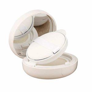 Xunlin 15g / 0,5 oz Vide Coussin d'air Puff Box Maquillage cosmétiques Cas récipient avec Poudre éponge Miroir for BB Cream Foundation