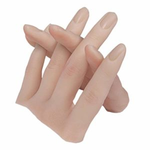 YUYANG Outil de formation des doigts en silicone flexible pour les doigts, manucure artificielle, peau
