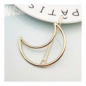 ZAJ Mode élégante Coiffe for Les Dames Pince à Cheveux Triangular Lune lèvres Ronde bâton Barrette en épingle à Cheveux épingles à chignons tête Accessoires 1pcs (Color : 4)