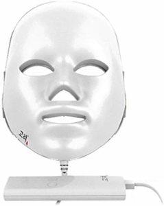 ZYQ Masque de Beaute a LED Light Therapy Mask 7 Couleurs AccElErer Le MEtabolisme Produire Eradication du Collagene de L'acnE Eclaircir Les Taches et Les Pigments Raffermir La Peau