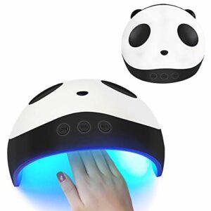 36W UV LED Panda Sèche-Ongles Lampe USB Rechargeable Auto-détection Nail Synchronisation Gel Polonais Durcissement Lumière Nail Art Machine