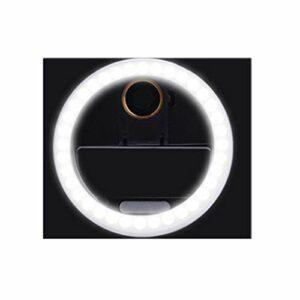Babysbreath17 Lampe Beauté Cils greffe Cils lumière de Photo Grand Angle de Remplissage Accessoires de Prise de Vue Macro lumière Noir