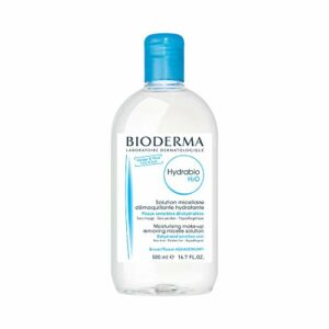 BIODERMA HYDRABIO H2O 500ml | Nettoyante et démaquillante – Purifie en douceur | Peaux sensibles déshydratées