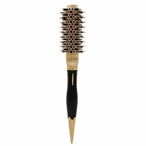 Brosse sèche-Cheveux, Brosse soufflante, Brosse ionique avec Corps en céramique et Brosse lissante chauffante en Nylon pour coiffer Les Cheveux bouclés