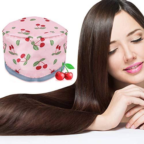Casques Chauffant Cheveux- GLAMADOR Bonnet Chauffant pour Soins Capillaires,Bonnet Chauffant Cheveux-Bonnet Chauffant Électrique avec Température de 2 Modes Disponible,Soins capillaires à la maison