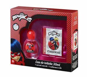 Christine Arbel Coffret Parfum Fille Eau de Toilette 50 ml + Carnet Secret avec Cadenas à Clé Fabriqué en France