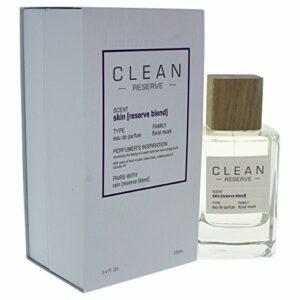 Clean Réserver Peau Eau de Parfum Spray pour Unisexe 3,4 oz 100.55 ml