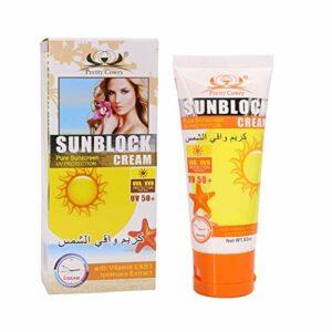 ColorfulLaVie SPF50 Crème solaire Crème solaire hydratante blanchissante sans huile pour le corps du visage