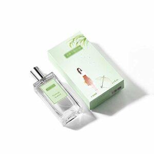 DQM Eau de Toilette pour Femme, Vaporisateur de Parfum à fragrances boisées fraîches de Longue durée, Parfum Girly Naturel rafraîchissant, 50 ML / 1,7 oz