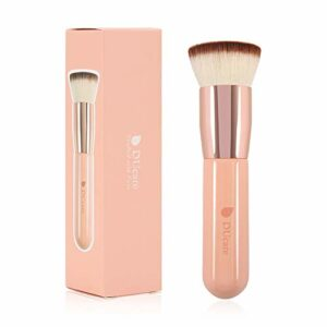 DUcare Pinceau Fond de Teint Professionnel Kabuki pour Maquillage du Visage – Parfait Pour le Mélange Liquide, Crème ou Poudre Cosmétique Sans Défaut
