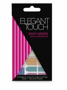 Elegant Touch Envy Faux ongles autocollant Transat Brights