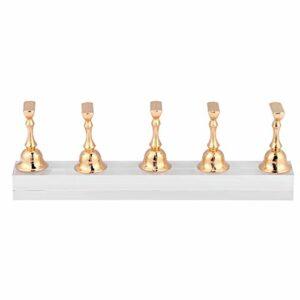 Ensemble de support de présentoir à ongles, faux ongles Art magnétique montrant l'étagère pour la décoration d'affichage de pratique de conception d'ongles