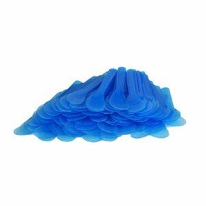 EXCEART 100 Pcs Maquillage Givré Astuce Spatule Tatouage Réparation Crème Bâtons Jetables En Plastique Crème Spatule Maquillage Outils (Bleu)