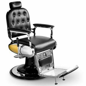 Fauteuil de barbier chaise salon de coiffure professionnel barbiers esthétique beauté 205024