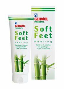 Gehwol Fusskraft Gommage pour pieds doux au jojoba en bambou