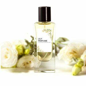 Girly Eau de Toilette, Parfum Parfum Longue Durée Lily Parfum Parfum, Parfum Femme Frais et Naturel, 50 ML / 1,7 oz