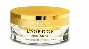 Isabelle Lancray Crème de Jour Anti-âge – L'âge d'or Marianne Crème Liberté, crème pour le visage raffermissant la peau avec protection contre la lumière UV, soins de jour pour mûrir et exigeant la peau (1 x 50 ml)
