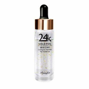 Kybbe Gold-Based Moisturizing Primer 24K Hydratant RéTréCissant Les Pores Raffermissant La Peau