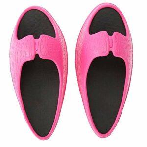 Les femmes ont secoué les pantoufles pour les jambes de massage des pieds amincissant la douleur de soulagement de posture de bosse(EUR 35-36)