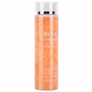 Lotion de blanchiment de la peau à l'eau de rose hydratante pour le visage pour les soins de la peau des femmes