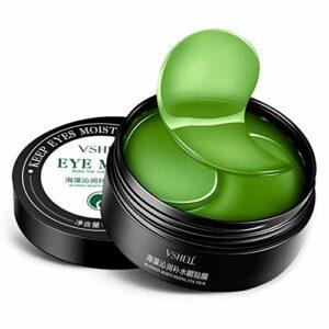 Luckine Seaweed Masque Hydratant Pour Les Yeux Hydratant Raffermissant Peau Supprimer Les Cernes Cernes Gel Anti-poches Masque Pour Les Yeux 60 Pcs