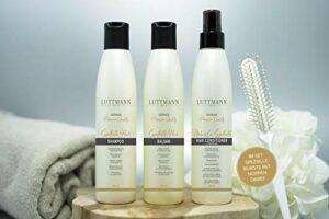 LUTTMANN® Kit d'entretien pour cheveux synthétiques avec brosse pour perruques et accessoires de cheveux synthétiques