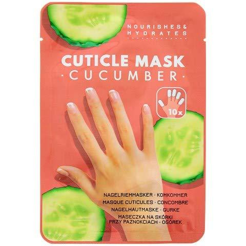 Masque de soins pour les cuticules au concombre * 10 pcs