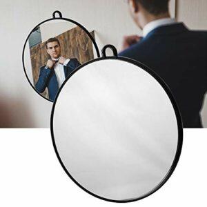 Miroir de Coiffeur Rond, miroir professionnel de maquillage pour le salon personnel et de cheveux