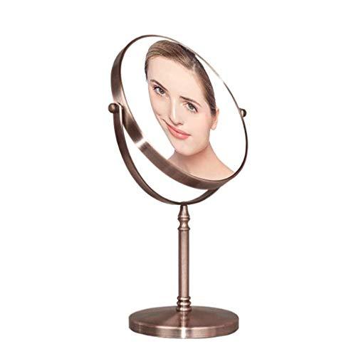 Miroir de maquillage (7-8″ ) Miroir de maquillage Vanity 1X et 3X miroir grossissant ~ fait un grand cadeau de douche à main Miroirs antibuée Miroirs avec poignée Paquet Lighted Miroir de maquillage