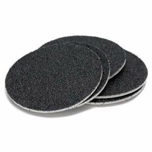 MyEstore Outils Soins des Pieds Grand 60 PCS de Remplacement for Disque Sandpaper Bouillotte Polisseuse, Spécification: 80 Mesh (Medium Sand)