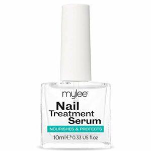 Mylee Sérum de traitement des ongles 10 ml – Huile naturelle pour ongles et cuticules – Renforce, répare et favorise une croissance saine des ongles
