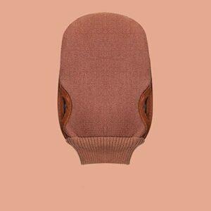 NYKK Gants de Toilette exfoliants Gants exfoliants, utilisé for Le Bain, la Douche, Spa avec du Savon et récurage Gants exfoliants Serviette exfoliante pour Le Corps (Color : A, Taille : 6 Pack)