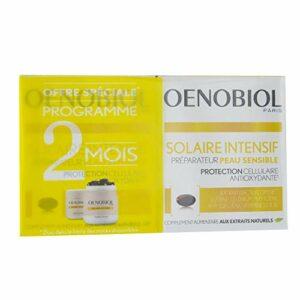 Oenobiol – Intensif Preparateur Peau Sensible 2×30 Capsules Solaire Oenobiol
