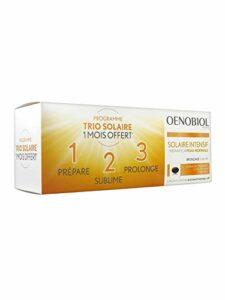 Oenobiol Solaire Intensif Préparateur Peau Normale Lot de 3 x 30 Capsules