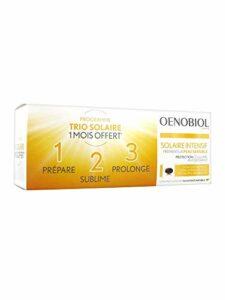 Oenobiol Solaire Intensif Préparateur Peau Sensible Lot de 3 x 30 Capsules