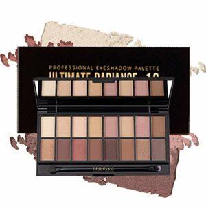 ONLYOILY 16 couleurs Palette Ombres à Paupière Ultra Shimmer Matte Pigmentée, Palette de Maquillage Fard à Paupière Palette Fard à Paupières, Poudre Imperméable Longue Durée Cadeau