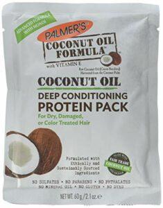 PALMERS NOIX DE COCO HUILE POUR CHEVEUX formule avec profond cheveux Après-Shampooing Protéine Lot, 2.1 oz (paquet de 2)