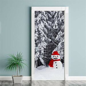 Pas cher Porte Autocollant Joyeux Noël Mur Art Amovible Maison Fenêtre Stickers Muraux Decal Party Decor big sales