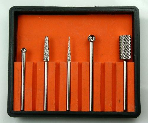 Ponçage Corps Embouts de fraisage AW Kit de 190Fraise pour SJ Diamant et 700366096Fraise Embouts 5pièces