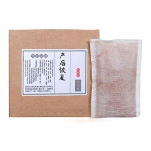 Qkiss 10pcs poudre de bain de pieds post-partum médecine à base de plantes Wormwood Spa sac de poudre de bain de vapeur