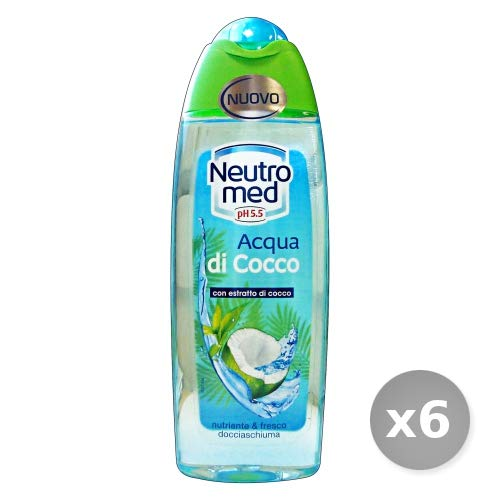 Set 6 NEUTROMED Douche Acqua di Cocco 250 ml – Douche Mousse