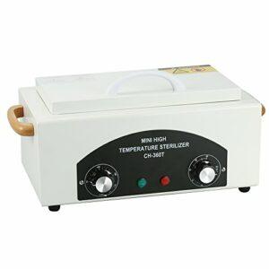 Stérilisateur à hautes températures avec le réservoir démontable d'acier inoxydable pour des outils dentaires de clou avec la chaleur»tiennent» la capacité