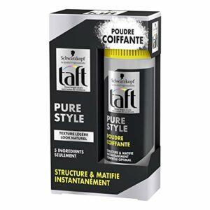 Taft – Poudre Coiffante Cheveux – Pure Style – 10 g