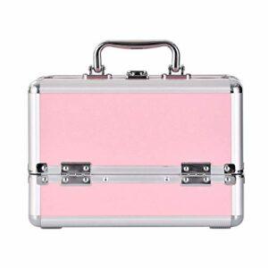 TYWZJ Trousse de Toilette Professionnelle, boîte de Rangement de Maquillage boîte de Rangement de Cas cosmétique pour débutant ou Usage Quotidien de Maquillage, H