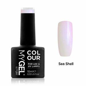 Vernis à ongles MyGel, de MYLEE (10ml) MG0050 – Sea Shell Manucure UV/LED Nail Art Pédicure pour un usage professionnel dans le salon et à la maison – Durable et facile à appliquer