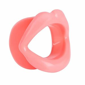 Visage Mince Silicone Visage Levage Lèvre Exerciseur Bouche Muscle Serrant Serrant Anti-Rides Soins De Beauté Face-lift Outil