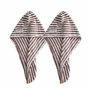 WLD Bonnet à cheveux secs femmes épaissie Turban serviette absorbante cheveux longs à séchage rapide artefact bonnet de douche serviette à cheveux secs